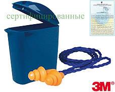 Вкладиші протишумові на шнурку з коробочкою, багаторазового використання 3M-OS-MULTI P