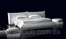 Итальянская белая современная кровать BELLAVITA  фабрика ALBERTA для матраса 180х200
