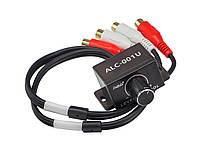Выносной регулятор аудио баса для усилителя 2 RCA - 2 RCA