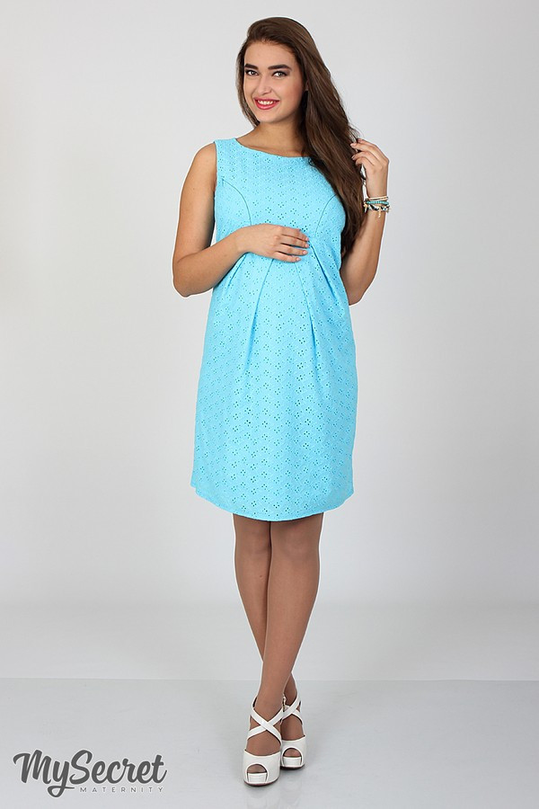 Сарафан для беременных и кормящих Amery ЮЛА МАМА (голубой, размер M)
