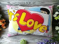 Подушка It`s love... , 45 см * 32 см