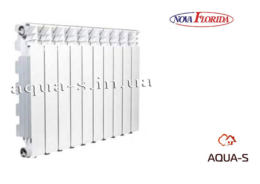 Радиатор алюминиевый Nova Florida Desideryo B4 500/100 на 11 секций (16bar) Италия