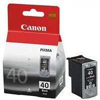 Картрідж (О) CANON №40 чорний PG-40 /IP/1200/1600/2200/6210D/MP/150/170/450/ 195стр