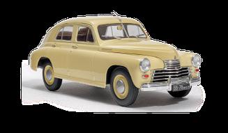 Легендарные Автомобили №03 ГАЗ-М20 «Победа» | Модель коллекционная 1:24 | Hachett