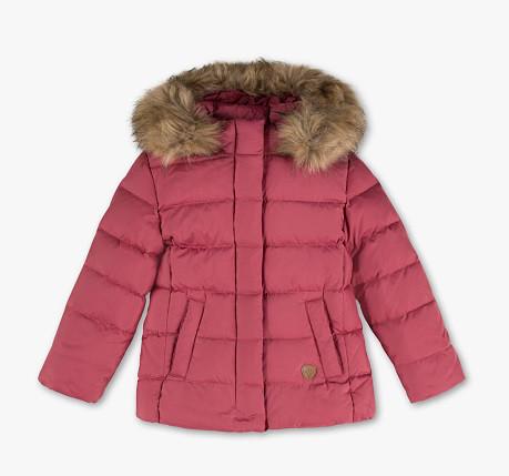 Детский зимний пуховик на девочку 7-8 лет C&A Германия Размер 128