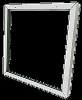 Лед.акс_DELUX_Рамка накладного монтажа_для LED панелей белая