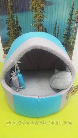 Будка - домик для котов и собак Комфорт лето, фото 2