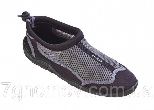 Тапочки для кораллов, аквашузы, обувь для плавания, дайвинга, серфинга BECO 90661 110 р. 47, фото 2