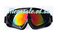 Лыжные очки Spark c УФ фильтром: черный (Black)