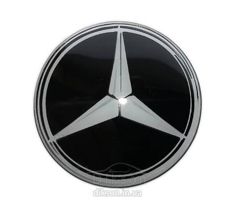 Силиконовая наклейка Mercedes, фото 2