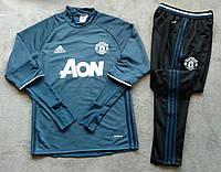 Костюм тренировочный Манчестер Юнайтед синий