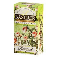 Чай зеленый Basilur Букет Белое волшебство 25х1,5г