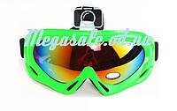 Маска гірськолижна/лижні окуляри Spark c УФ фільтром: Зелений (Green)
