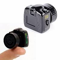 Мини камера для записи видео и фото 3х3 см.!