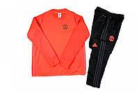 Костюм тренировочный Манчестер Юнайтед оранжевый