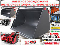 Навесное оборудование погрузчиков manitou, jcb, merlo, bobcat, haulotte, claas, caterpillar (cat), new holland, фото 1