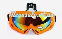 Маска гірськолижна/лижні окуляри Spark c УФ фільтром: Помаранчевий (Orange)