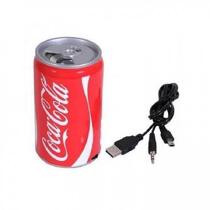 Колонка Кока Кола HLD100 Mp3 MicroSD, фото 2
