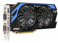 MSI GeForce GTX 650 Ti  1Gb DDR5   Гарантия 3 месяца.