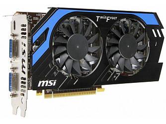 MSI GeForce GTX 650 Ti  1Gb DDR5 Б/У  Полностью рабочая! Гарантия !