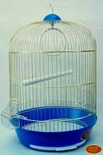 Круглая Клетка для попугаев - эмаль 33х53 309. Золотая клетка