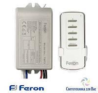 Дистанционный выключатель с пультом ДУ Feron TM-72 (2 канала по 1000 Вт)
