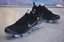 "Кроссовки Nike Air VaporMax Off-White ""Black"", фото 2"