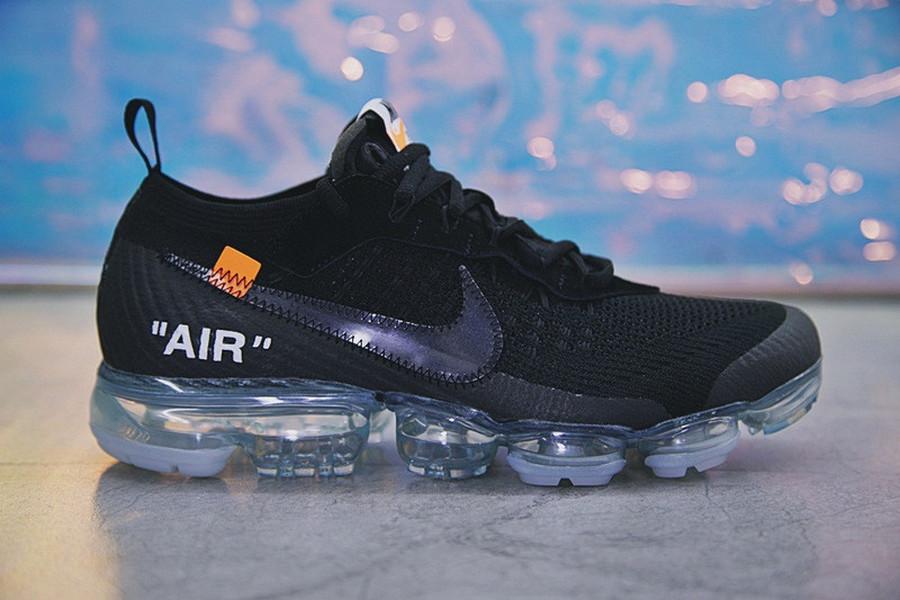 "Кроссовки Nike Air VaporMax Off-White ""Black"""