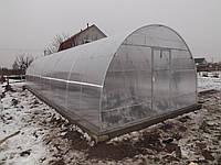 """Каркас теплиці під полікарбонат """"Норд -6"""" (підсилена) 4х6х2,5, фото 1"""
