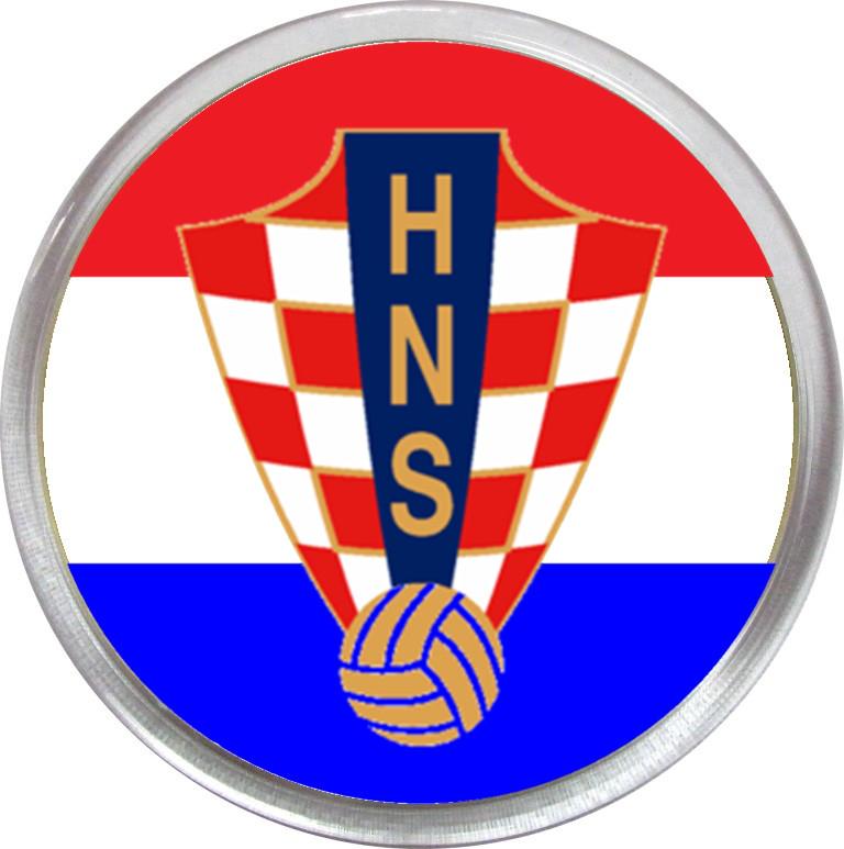 Значок (магнит) сборной Хорватии
