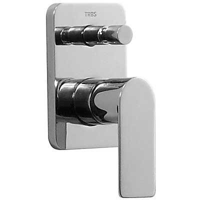 Смеситель для ванны встраиваемый Tres LOFT-TRES 20018001