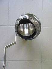 Регулятор тяги дымовой трубы AISI 304, фото 2