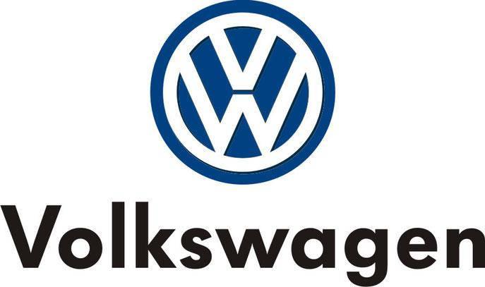 Автомобильный логотип Volkswagen 11*11см. хромированная накладка, фото 2