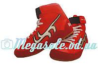 Обувь для борьбы (обувь для единоборств) борцовки Wei Rui, красный: размер 35-41
