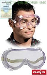 Противоосколочные захисні окуляри закриті REIS Польща GOG-AIR T