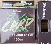 Леска Feima Carp Strong 100м 0,20-0,40