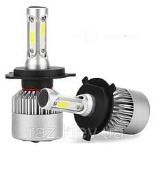 Светодиодная лампа H4 72 Вт (цена указана за 1 штуку 36 Вт) 8000LM пара, 6500K LED HEADLIGHT