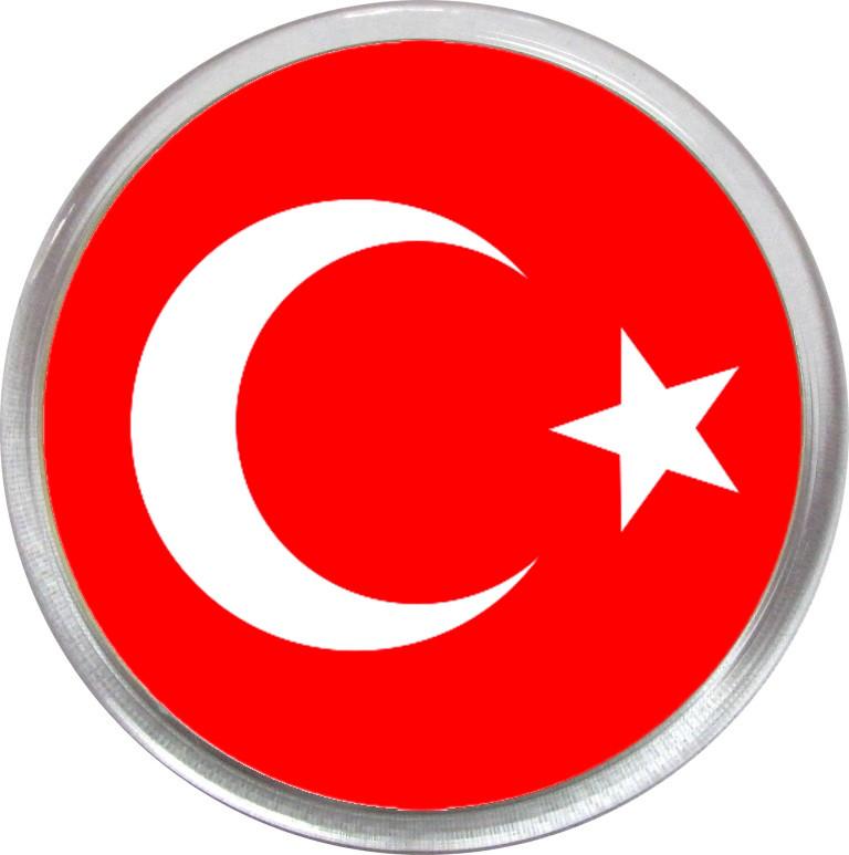 Значок (магнит) сборной Турции