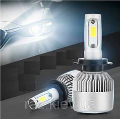 Светодиодная лампа H7 72 Вт (цена указана за 1 штуку 36 Вт) 8000LM 6500K LED HEADLIGHT