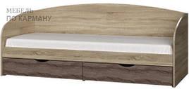 Кровать с двумя ящиками для хранения Комфорт