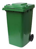 Бак для мусора 240L-green