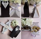 Свадебные подарки гостям - бонбоньерки, фото 3