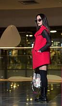 Модный жилет Beaity красный(42-48)