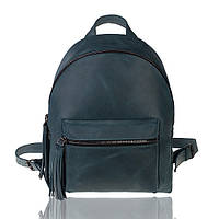 Рюкзак кожаный изумрудный орландо М, фото 1