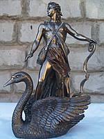 Статуэтка Veronese Аполлон на лебеде 36 см 72874, фото 1