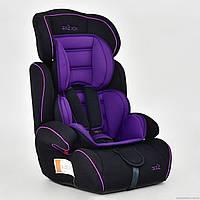 Автокресло детское JOY (группа 1-2-3) 8888 / JB 704 A, фиолетовое ***