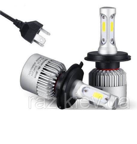 Світлодіодна лампа H4 PATROL 72 Вт (ціна за 1 штуку 36 Вт ) 4600LM пара, 6500K