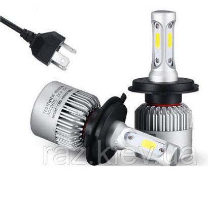 Світлодіодна лампа H4 PATROL 72 Вт (ціна за 1 штуку 36 Вт ) 4600LM пара, 6500K, фото 2