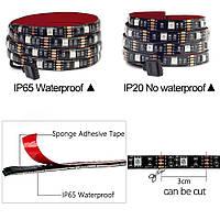 Rgb led лента Светодиодные DC5V USB RGB Strip mini 3 key (водонепроницаемая лента) 0.5