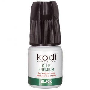 Клей для бровей и ресниц Kodi Professional Premium Black, 3 г